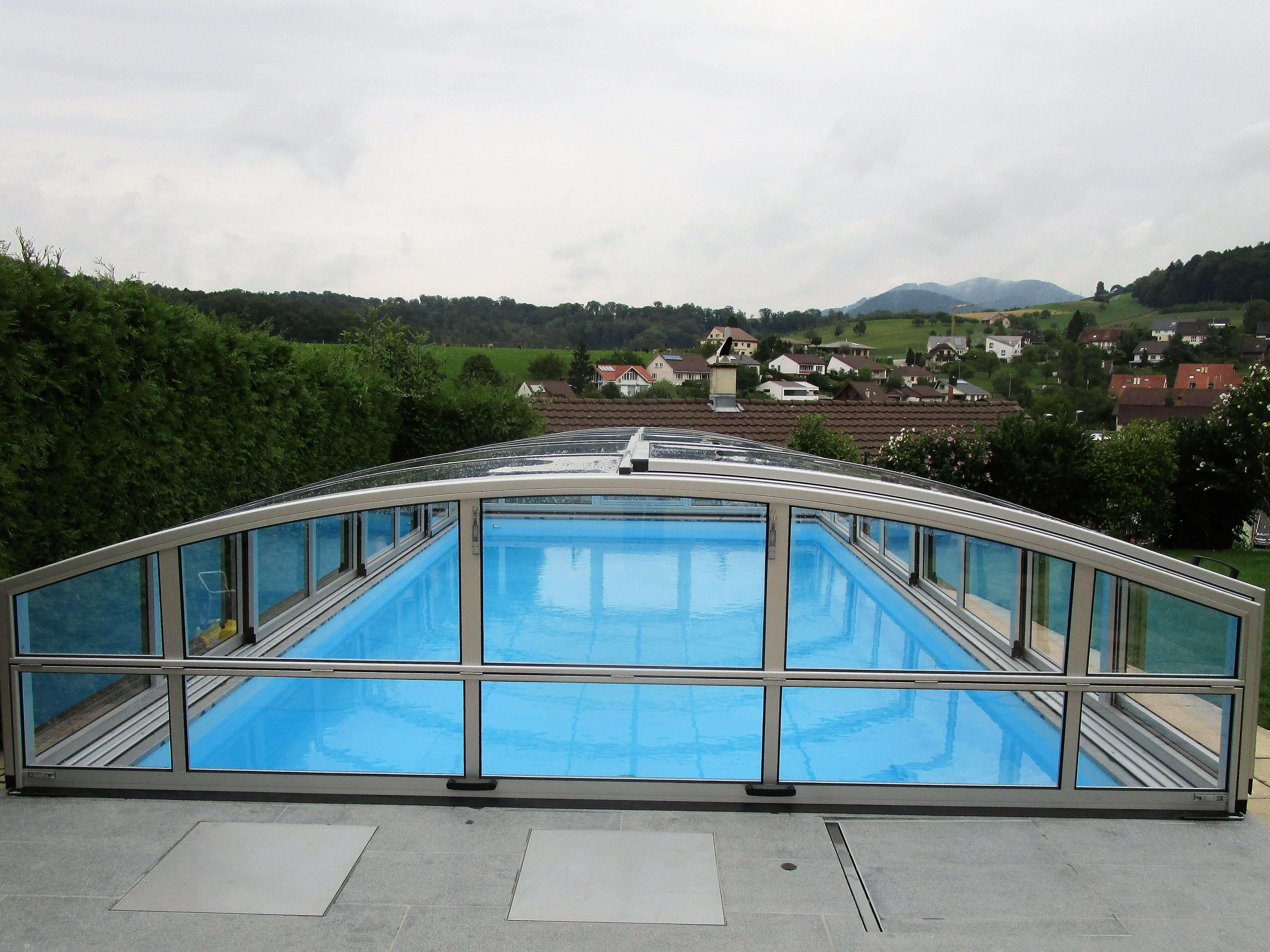 Skytop | Poolüberdachung | Lieferung In Ganz Österreich Und Europa