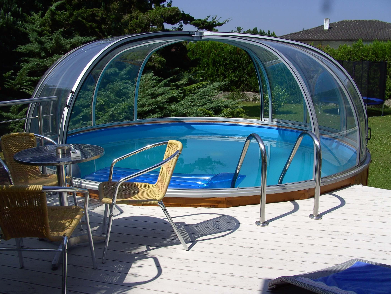 Pool rund elegant dem teilte er seine ideen mit ein for Stahlrahmen pool rund